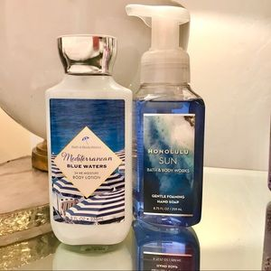 Bath & Body Works Body Lotion and Hand Soup Set